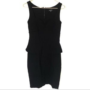 Bebe body con Peplum black dress
